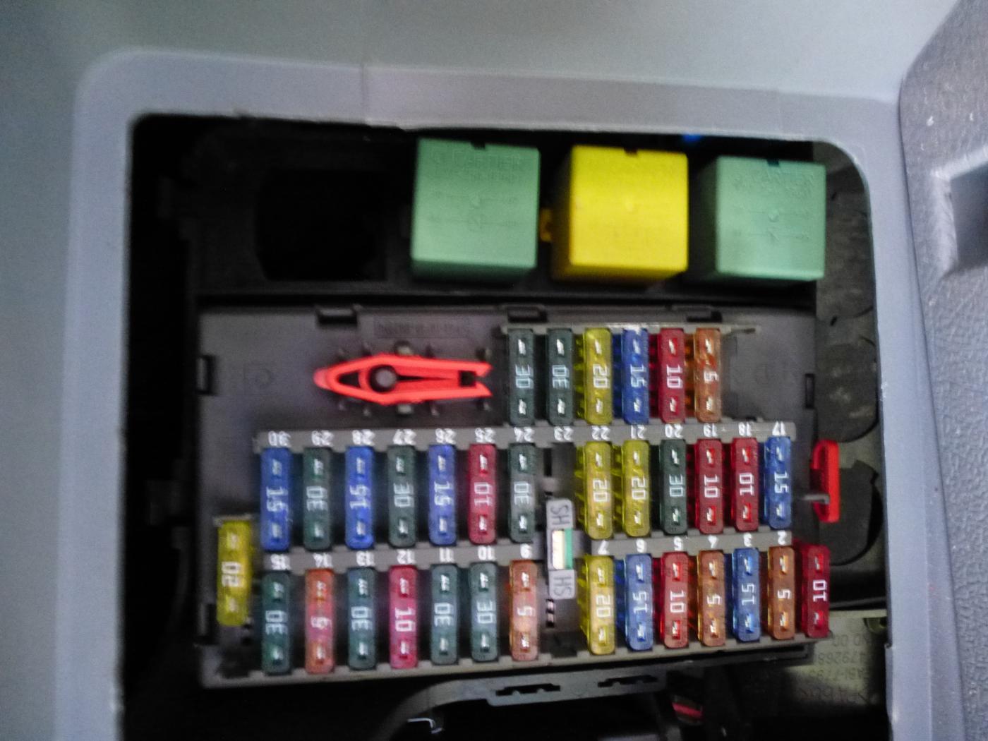 Heater Problem Page 1 General Discussion The Dispatch Expert Peugeot 407 Fuse Box Fuseboxjpeg